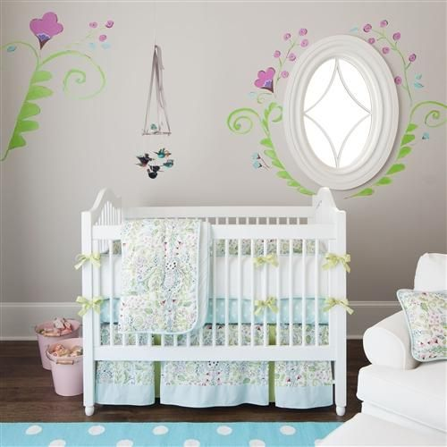 Bebe Jardin Baby Crib Bedding by Carousel Designs.