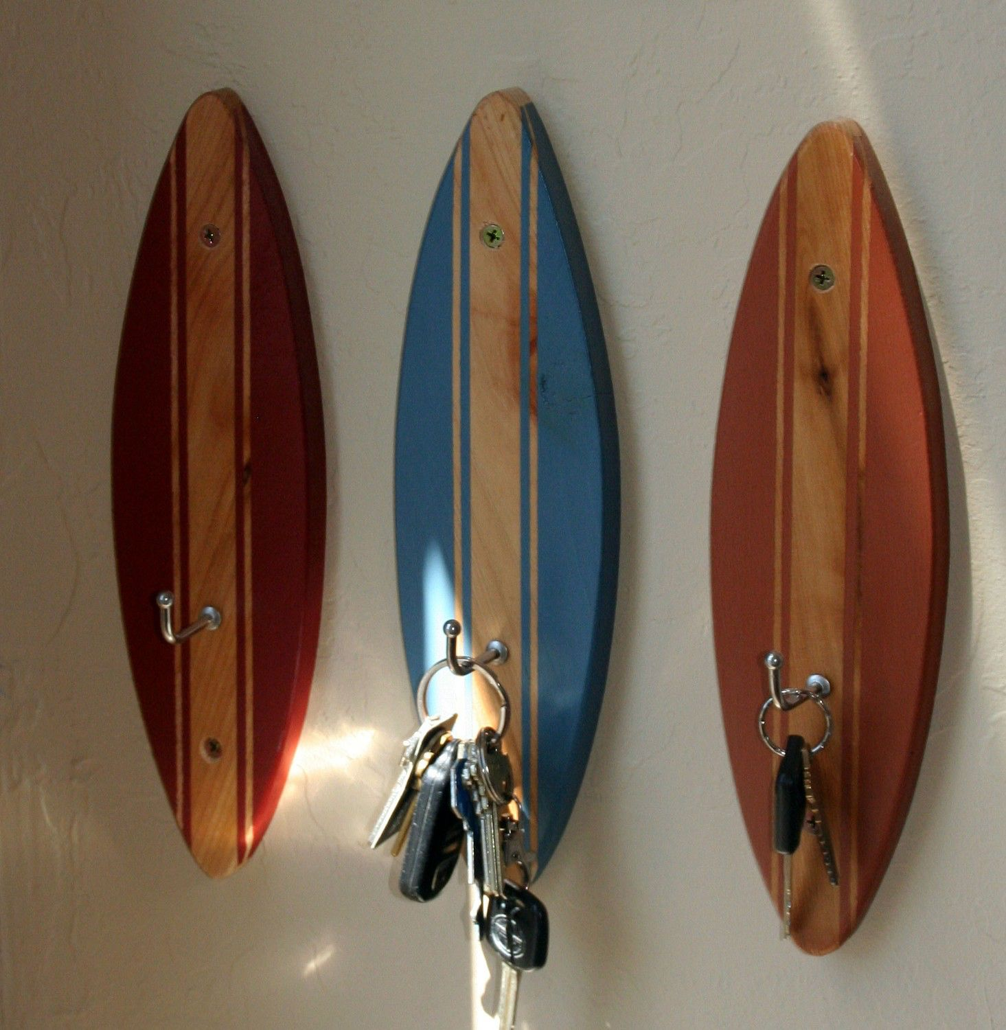 Surf Hooks by PickYourSeat on Etsy https://www.etsy.com/listing/95606241/surf-hooks