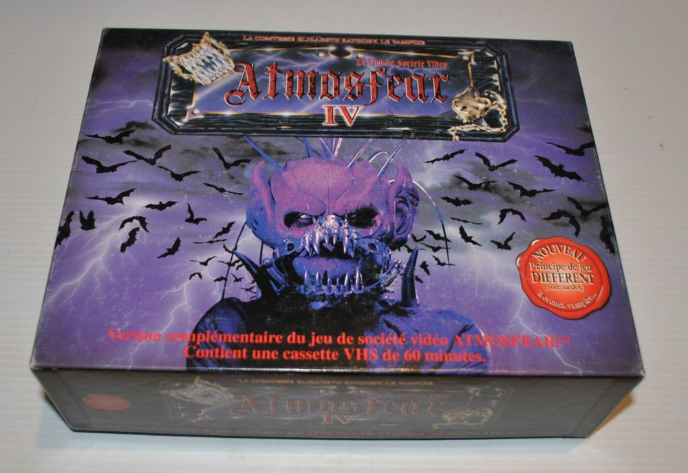 Atmosfear Iv Elizabeth Bathory French Vhs Horror Board Game Nightmare Rj Board Games Old Board Games Elizabeth Bathory