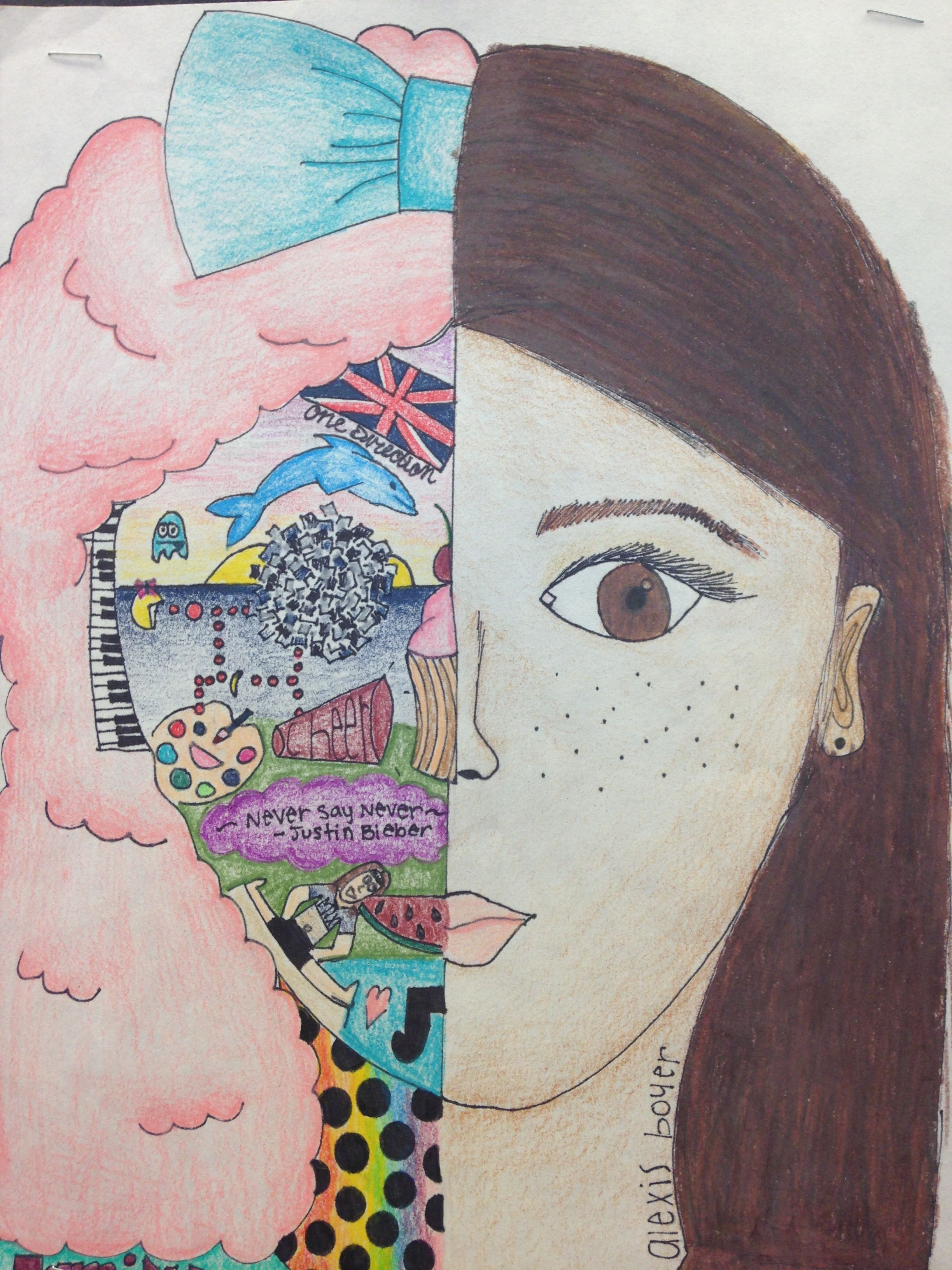 Pin By Merav On District Display Self Portraits