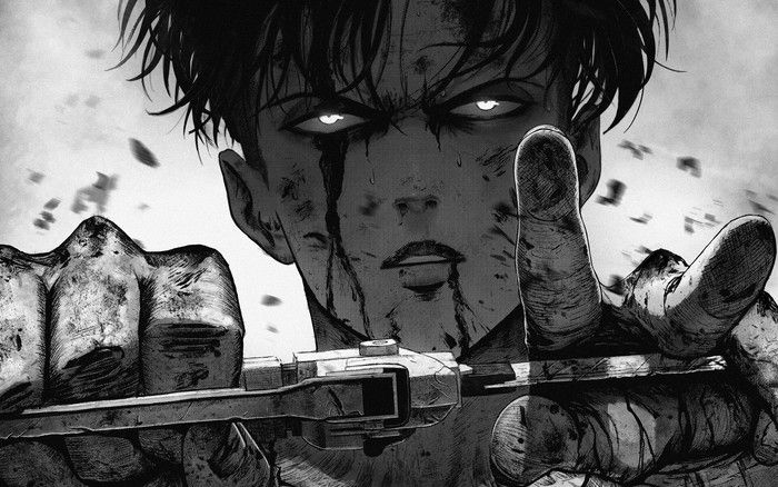 Attack on Titan, Levi Ackerman, Shingeki No Kyojin Wallpaper