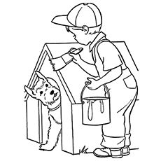 Top 20 Free Printable House Coloring Pages Online Coloring Pages House Colouring Pages Drawings
