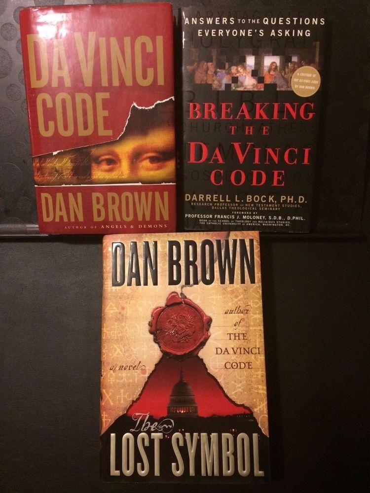 Dan Brown Davinci Code Lost Symbol Breaking The Da Vinci Code Bock