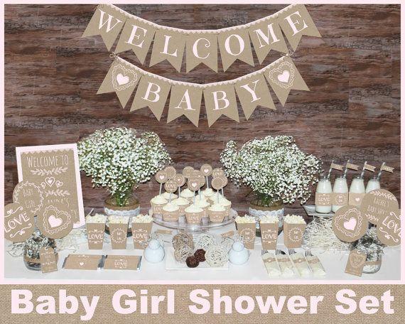 Decoracion Rustica Baby Shower