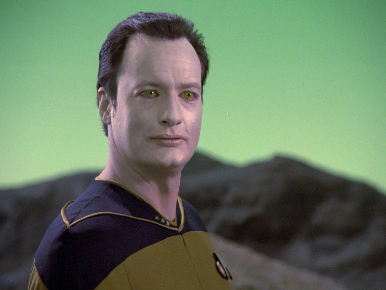 Star Trek TNG S1 - Hide and Q