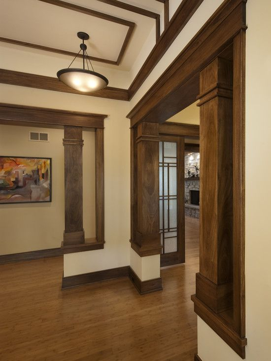Pony Wall And Square Column Between Kitchen And Livingroom