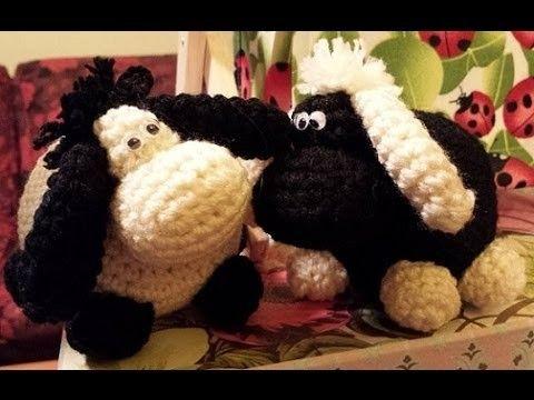 Pecora uncinetto amigurumi - Tutorial crochet