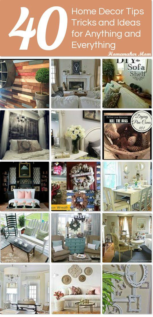 40 home decor tips tricks and ideas for anything and everything Idea Box by Suzie & 40 home decor tips tricks and ideas for anything and everything Idea ...