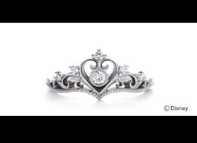Disney inspired wedding ring So cute Wedding Pinterest