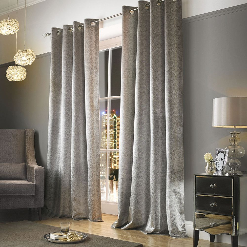 Buy kylie minogue at home adelphi lined eyelet curtains mist amara luxurybeddingkylieminogue