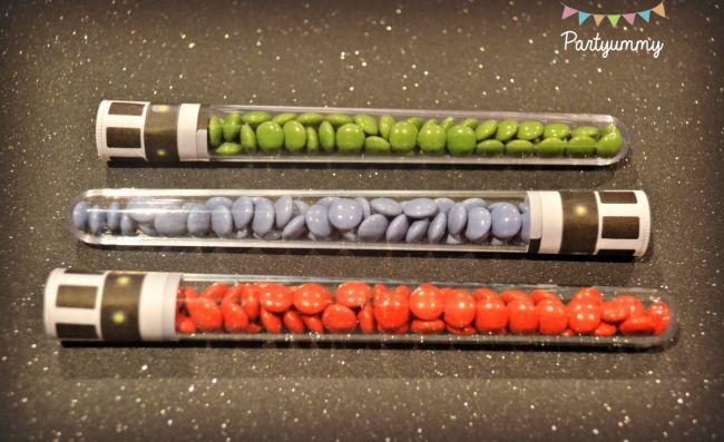 Boys Lego Star Wars Themed Birthday Party Candy Favor Ideas