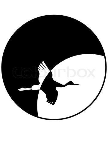 2075468-651148-silhouette-of-flying-crane-against-moon-isolated-illustration-on-white-background.jpg (371×480)