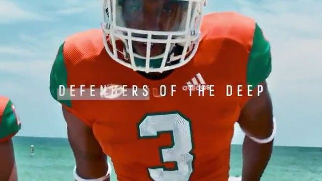 2d7a3896 Miami & adidas have created the first-ever football uni made of ...