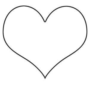 Basit Kalp Resmi Cizme Kalp Resim Anneler Gunu