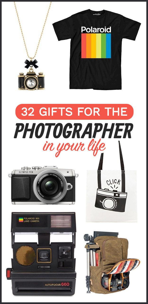 32 Gifts For The Photographer In Your Life Bff Christmas Gift Baskets