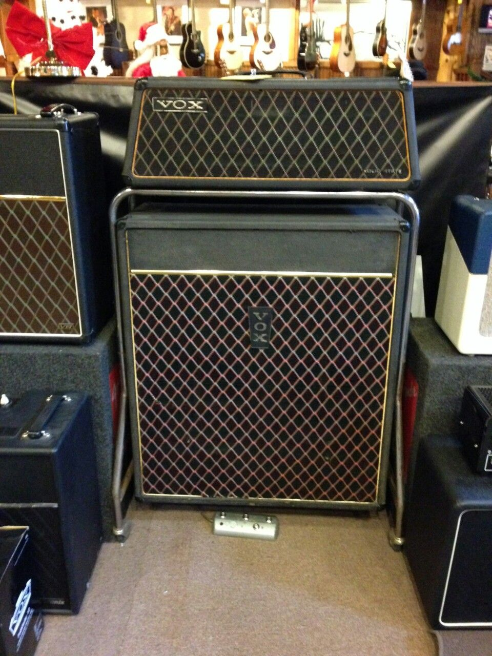 vox beatle amp amplify it guitares vintage guitare vintage. Black Bedroom Furniture Sets. Home Design Ideas