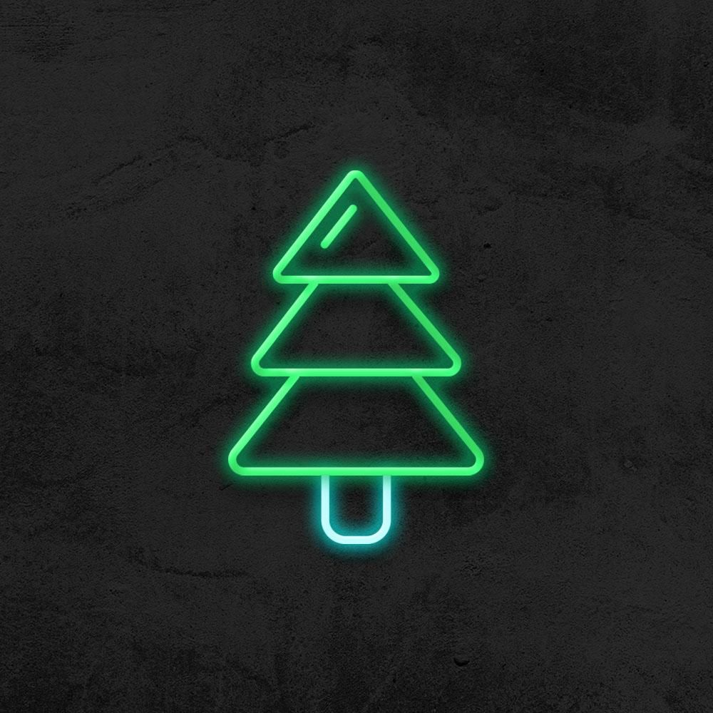 Christmas Tree Led Neon Sign In 2020 Neon Signs Led Neon Signs Custom Neon Signs