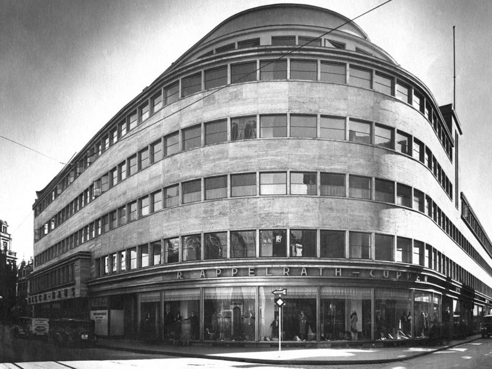 Bruno paul architect a 1930 department store which is for Architecture 1930