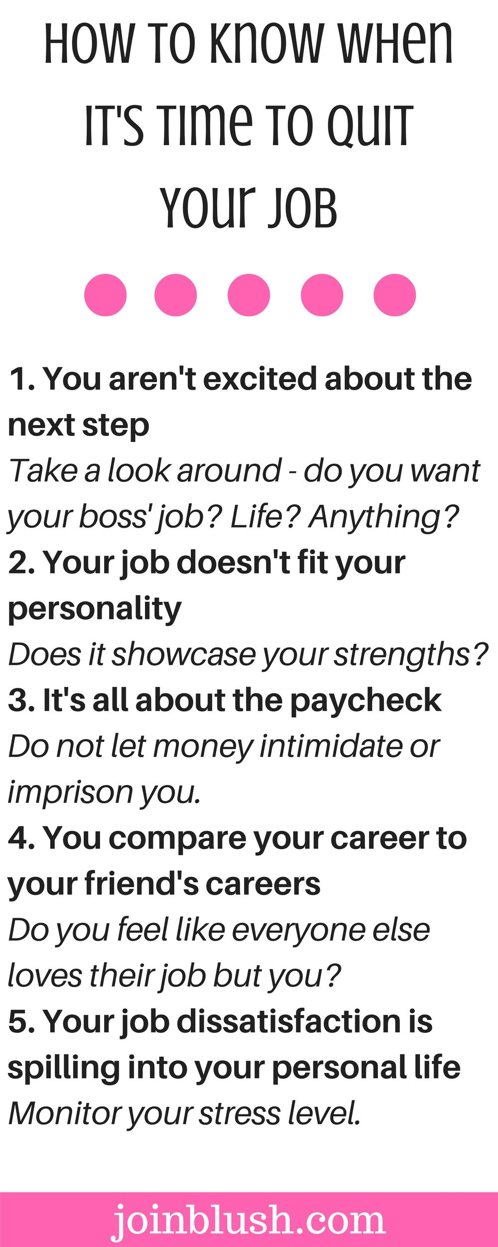 How To Know When ItS Time To Quit Your Job  Thoughts Career