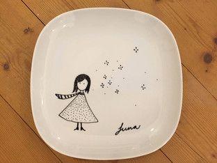 Favorit IKEA Geschirr Hack für Kinder: Porzellan bemalen | Painted ceramic VS43