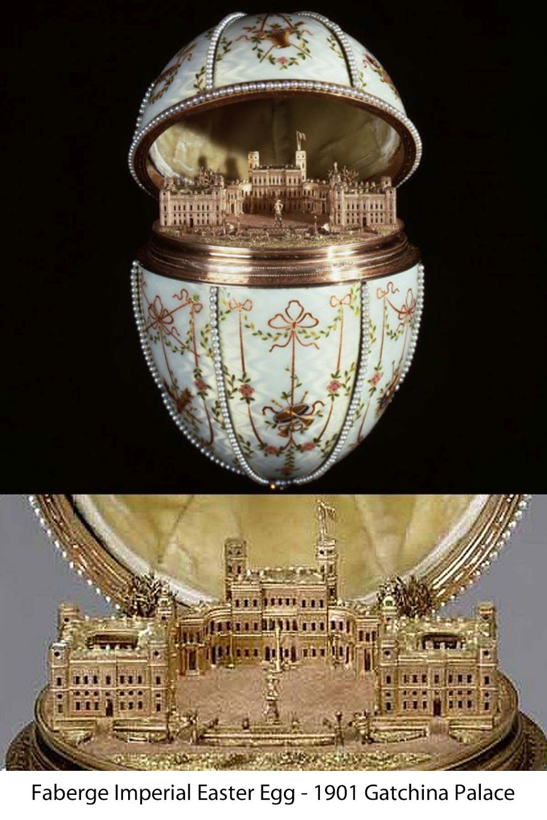Romanov eggs by faberge have a fascination with thesebeautiful i have a fascination with these beautiful jewel encrusted easter presents given between 1885 and 1916 to two tsarinas marie and alexandra negle Gallery