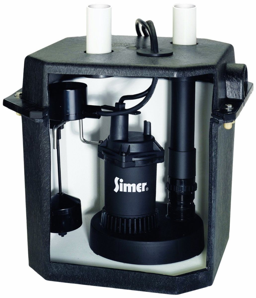 Pentair Simer 2925b 115v 6 Gallon Under Sink Laundry Pump System With Tank Laundry Sink Sump Pump Sink