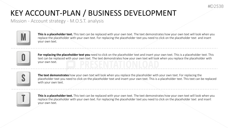 Key Account Management Powerpoint Template  Business Planning