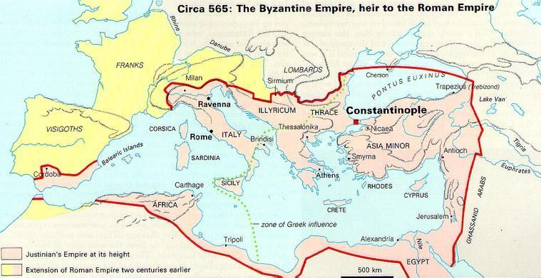 Constantinople On Europe Map | | Byzantium | Pinterest | History