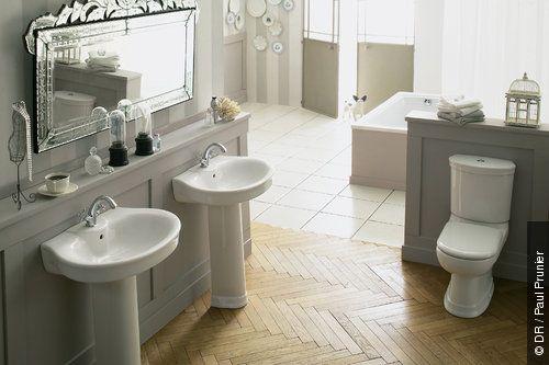 mod le d co maison ann es 30 salle de bains 30th. Black Bedroom Furniture Sets. Home Design Ideas