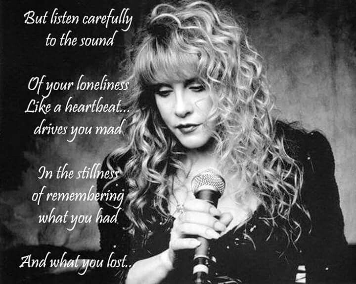 Dreams Fleetwood Mac Stevie Nicks Stevie Nicks Quotes Stevie