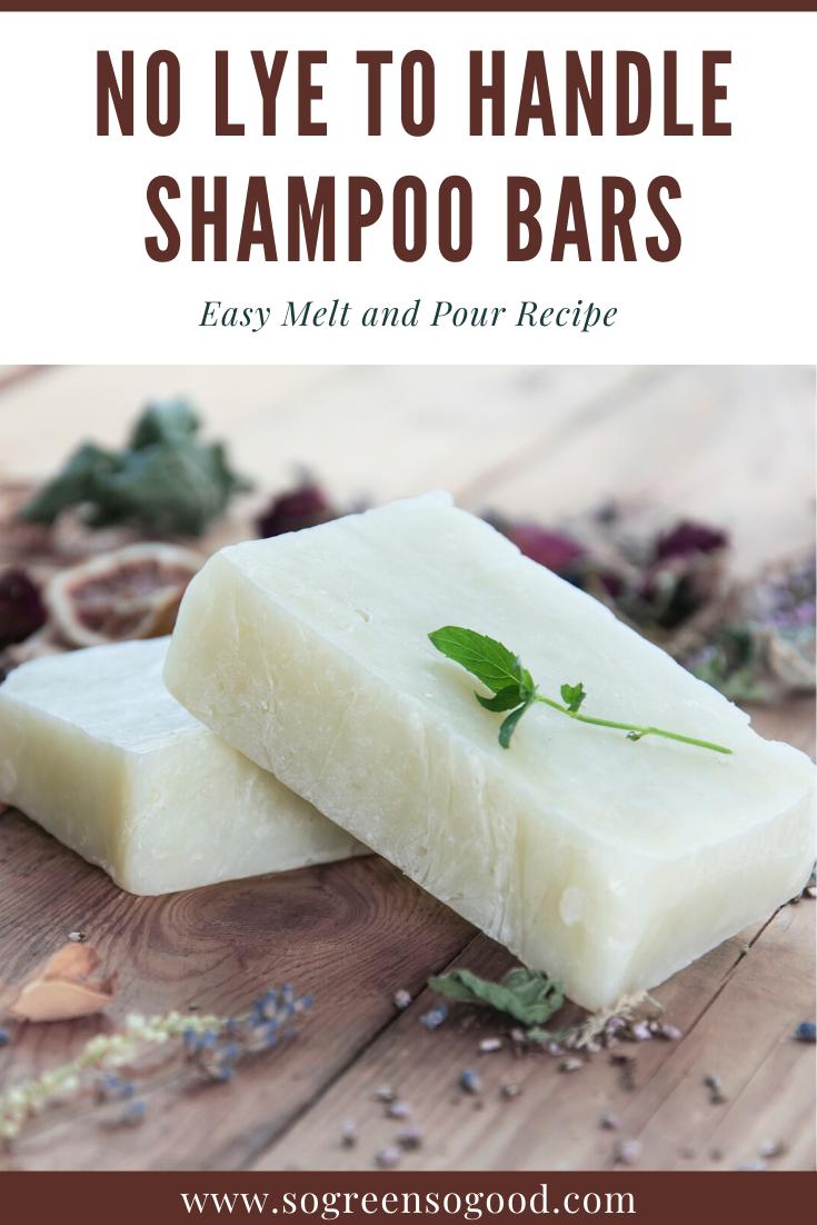 DIY Shampoo Bar - No Lye to Handle   Diy shampoo Diy ...