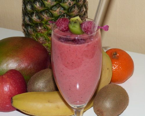 Delicious Fruit Smooothie