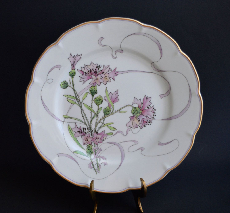 Haviland Limoges Fleurs Et Rubans By Felix Bracquemond