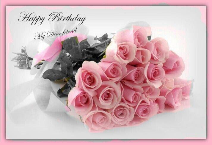 Happy Birthday Pink Roses