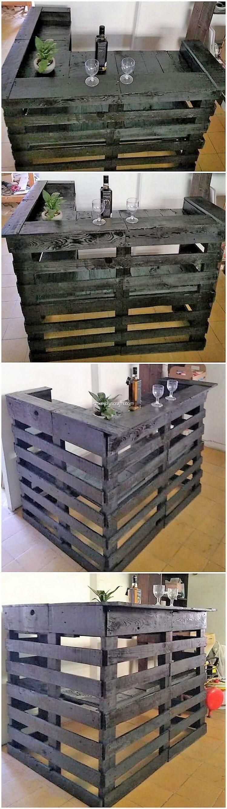Cheap and Easy DIY Pallet Wood Projects #woodpalletfurniture