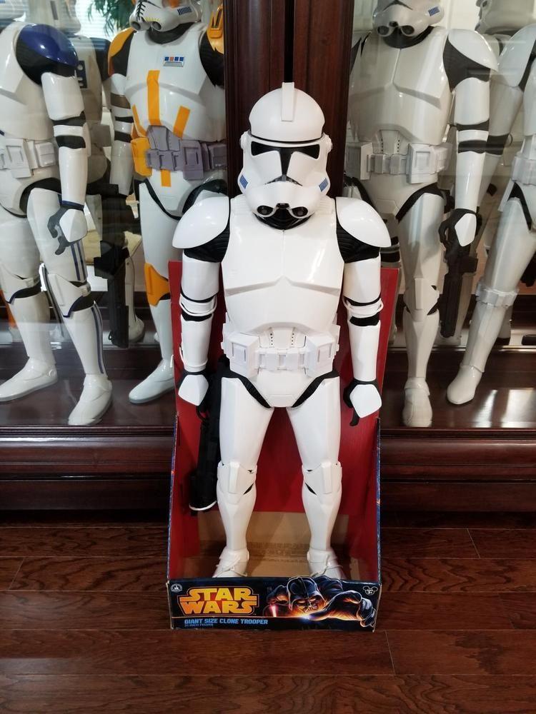 ec7e4071a3668 Disney Parks Star Wars Weekend 2014 Clone Trooper Jakks 31 Inch (NEW    BOXED)  JAKKSPacific