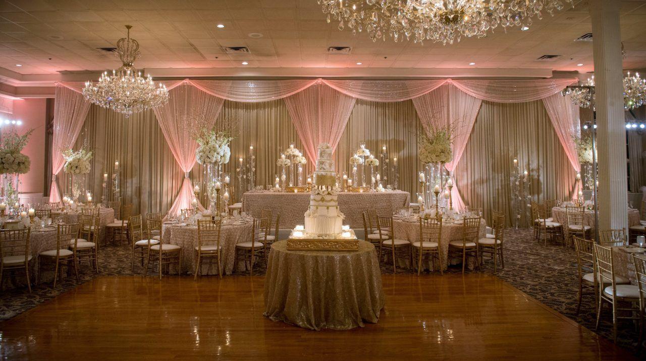 Wedding Reception Wedding Decorations Drapery Up Lighting Wedding Cake Recept Silver Wedding Decorations Luxury Wedding Decor Wedding Reception Head Table