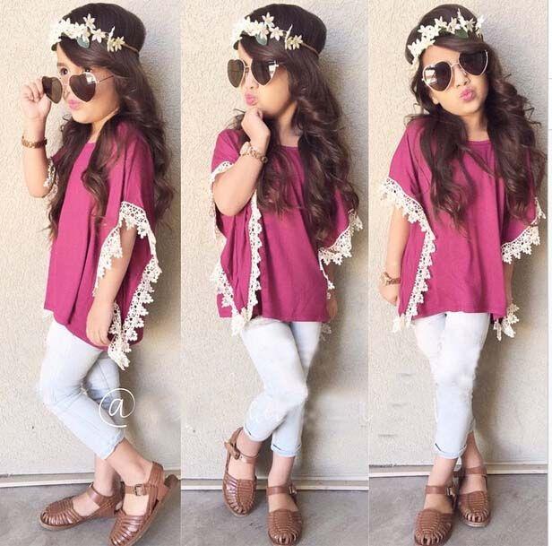Ninas A La Moda Buscar Con Google Vestidos De Ninas Ropa Para Ninas Fashion Outfits Ninos Y Moda De Ninos Pequenos