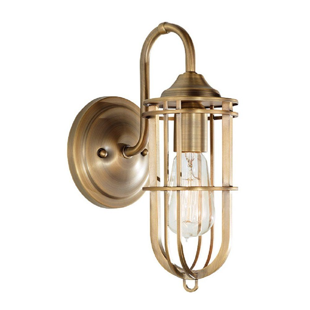 Manhattan American Collection URBAN RENEWAL factory style inspection lamp wall light