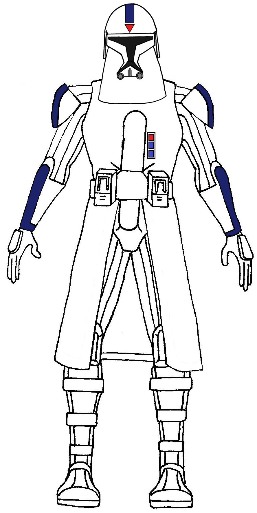 Clone Trooper 501st Legion Cold Assault Corps Star Wars Clone Wars Star Wars Trooper Star Wars Characters