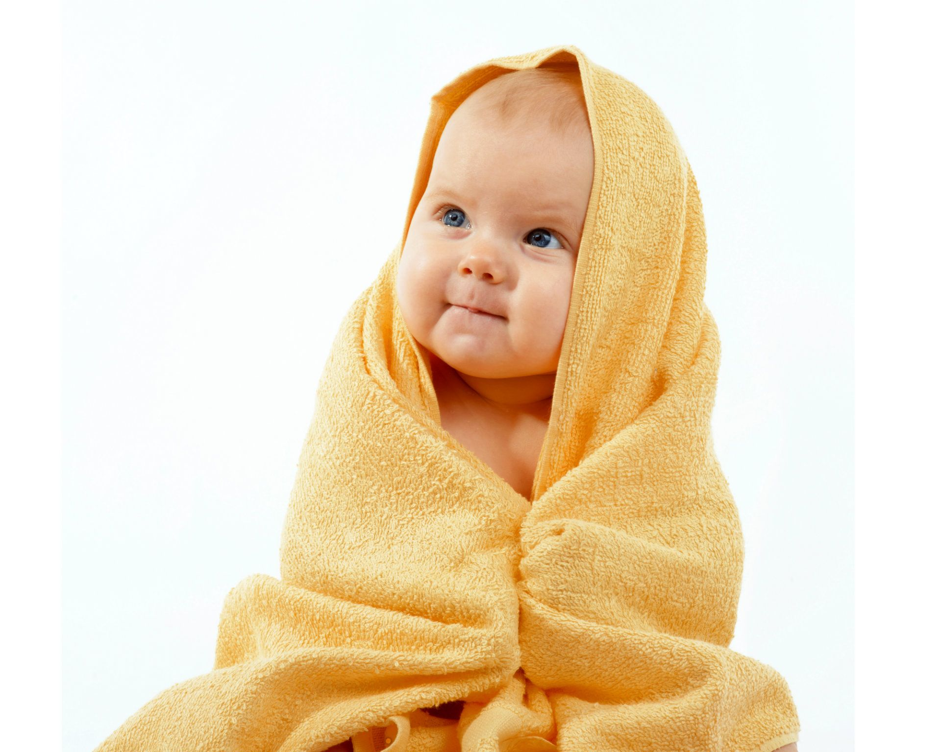 Baby boy background wallpaper baby boy background images baby boy - Adorable Happy Baby In Yellow Towel Stock Photo From The Largest Library Of Royalty Free Images Only At Shutterstock Cute Baby Boy