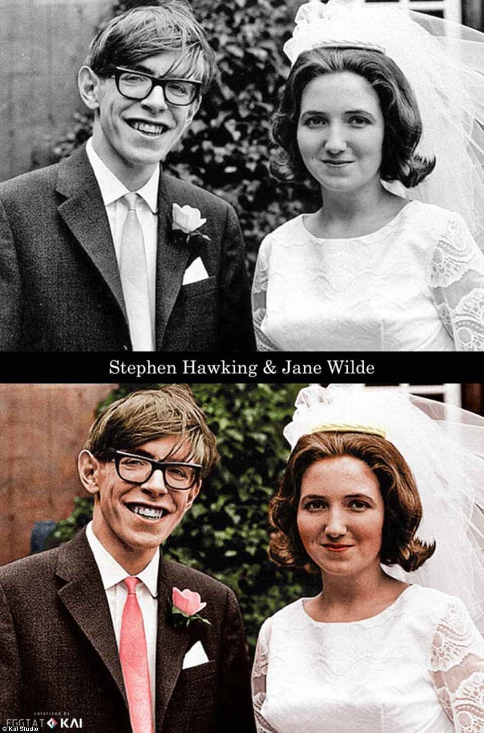 Stephen hawking and wife