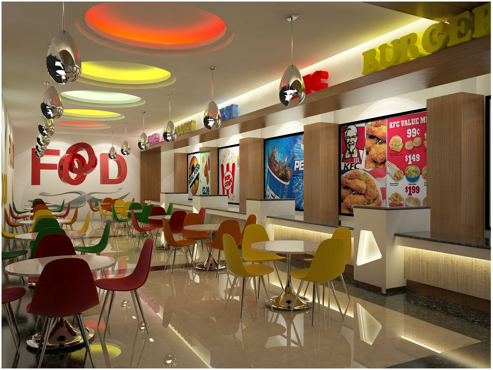 Pin By Abstract On Architecture And Places Food Court