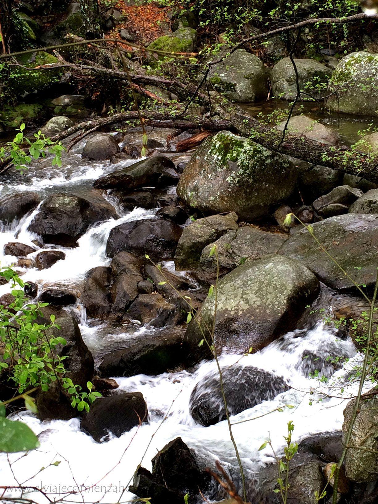 Cascadas en el Valle del Jerte