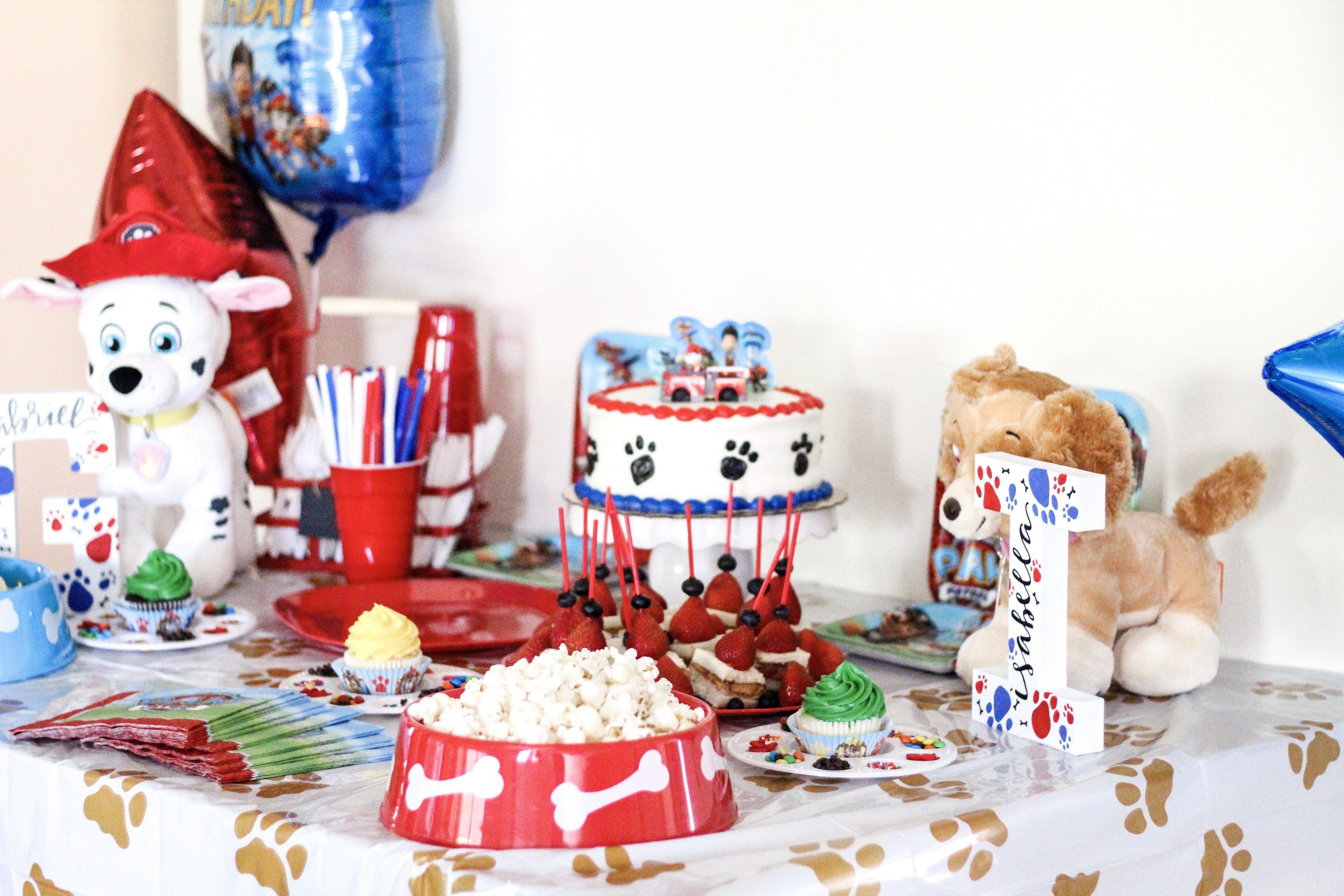 Paw Patrol Birthday Party Supplies Amazon Target Walmart Dog Bowls