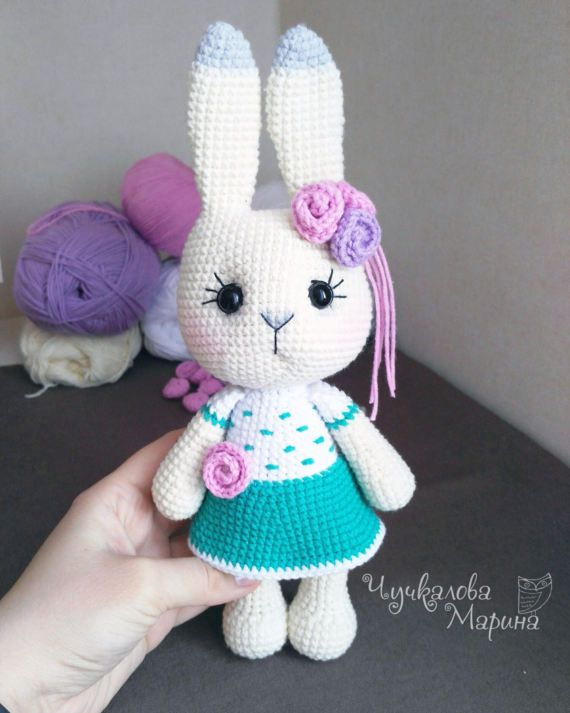PATTERN Busya the little bunny PDF pattern crochet toy | Conejo ...