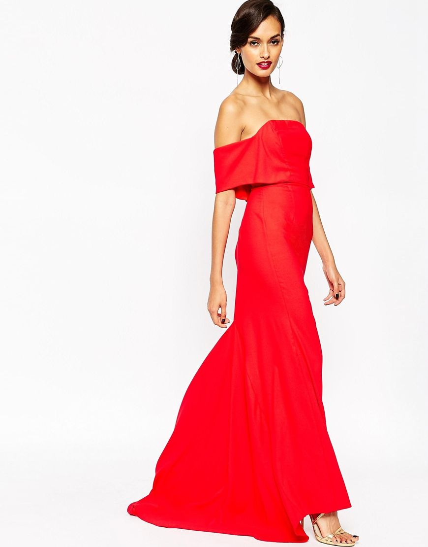 17 Best images about Red Maxi Dress on Pinterest - ASOS- Red ...