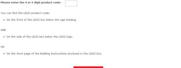 Lego Product Customer Satisfaction Survey WwwLegosurveyCom