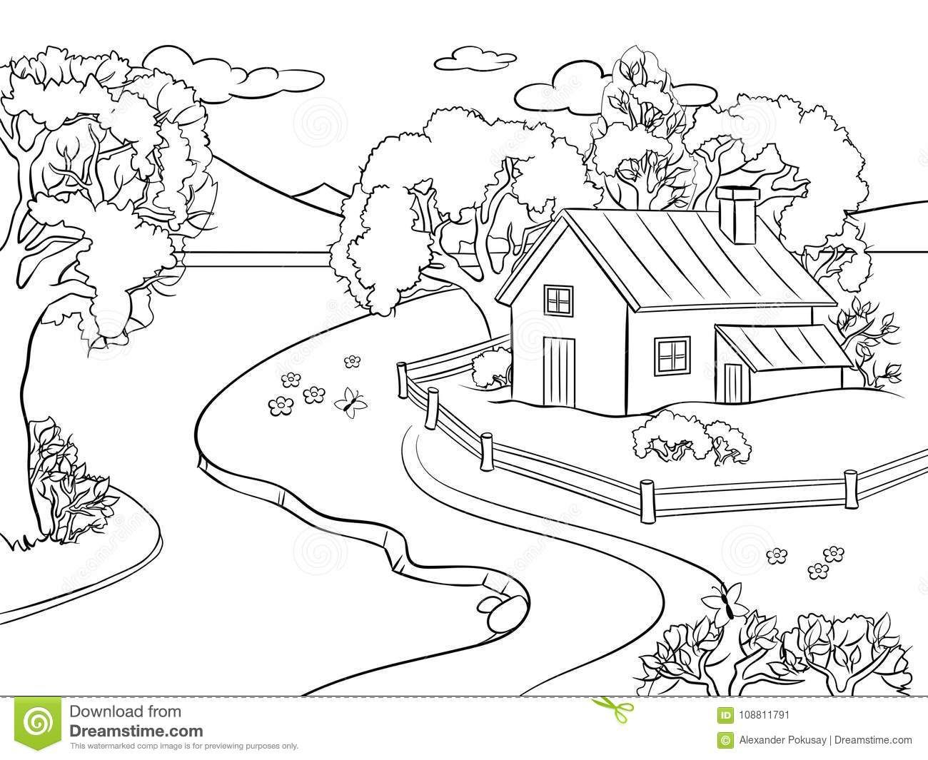 Pin By Monica Sunker On Geography Coloring Pages Nature Summer