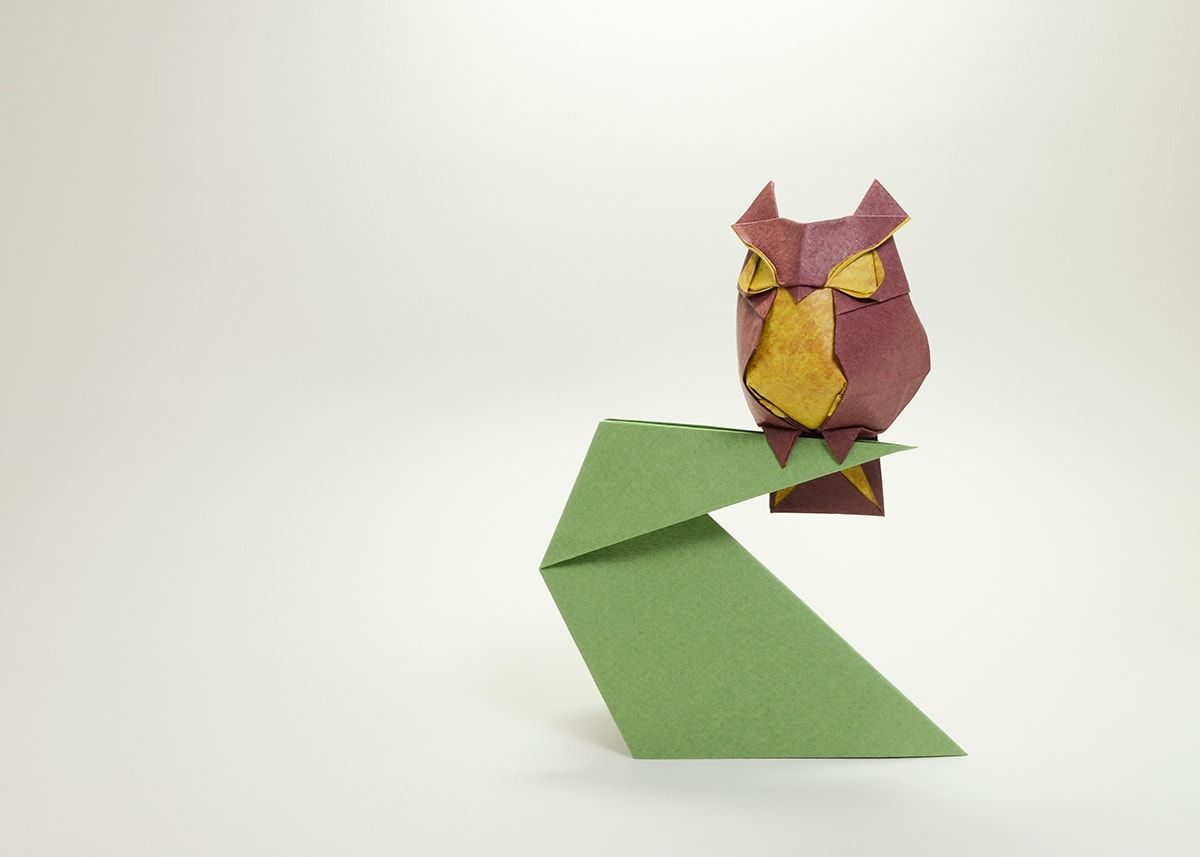 Photo of Owl, Designed and Folded by Hoàng Tiến Quyết
